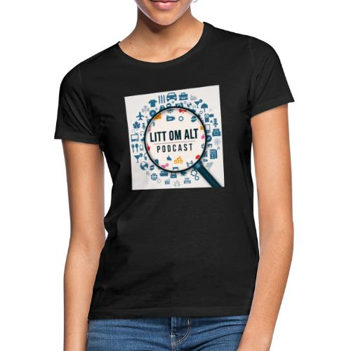 Litt om alt - T-skjorte for kvinner