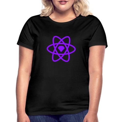 Sketch2React Dark Purple Logo - T-shirt dam
