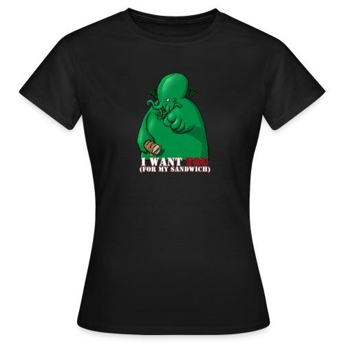 I want you - T-shirt Femme