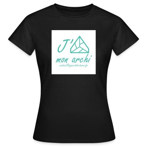 J aime mon archi - T-shirt Femme