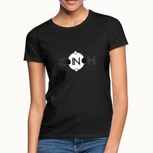Koinòn Logo - Maglietta da donna