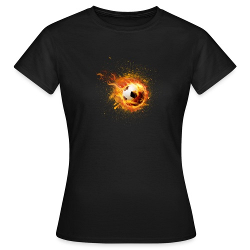 fire football - Frauen T-Shirt