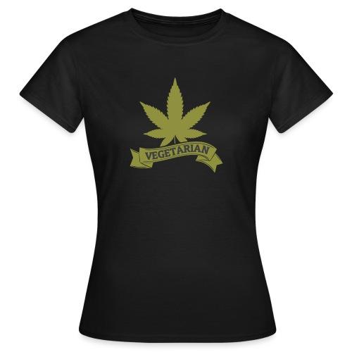 Hanf Vegetarian - Frauen T-Shirt