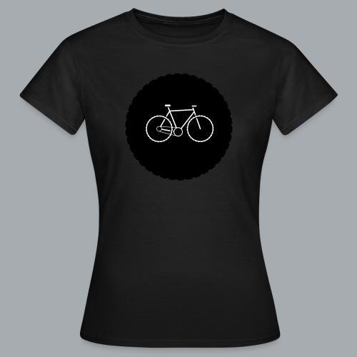 Bike Circle Vector - Frauen T-Shirt