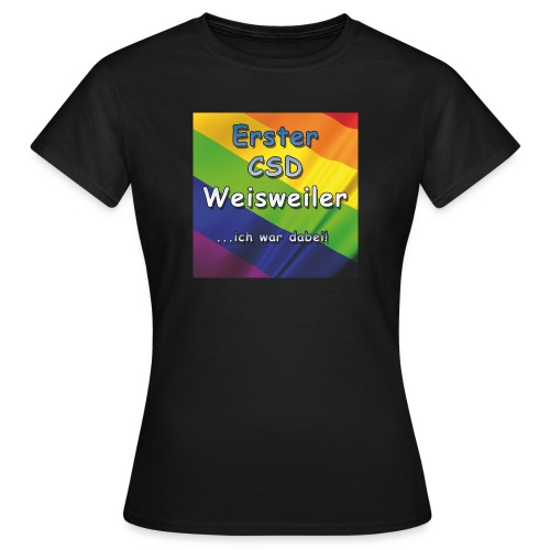 Erster CSD Weisweiler - Frauen T-Shirt