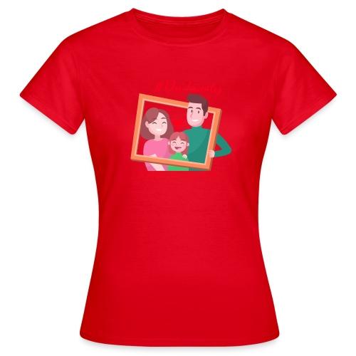 FAMILY - T-shirt Femme