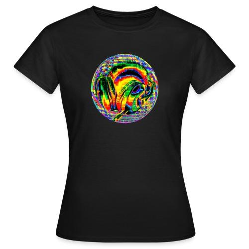 Casque à facettes - T-shirt Femme