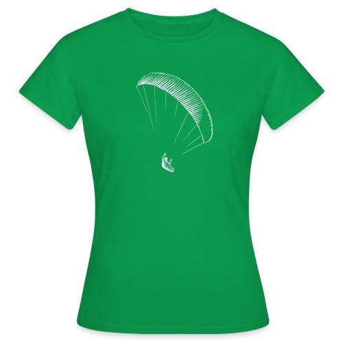 paraglider gerlitzen weiss - Frauen T-Shirt