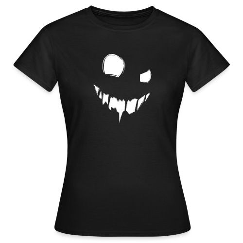 CreepySmile - T-shirt Femme