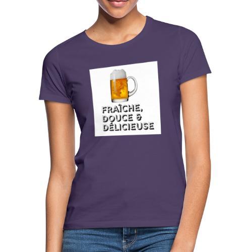 bière - T-shirt Femme