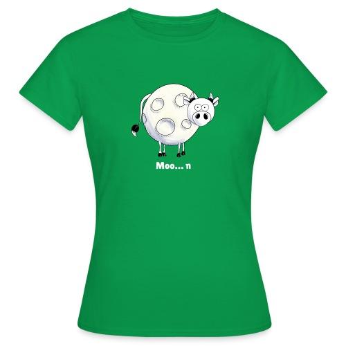 Moo…n - Women's T-Shirt