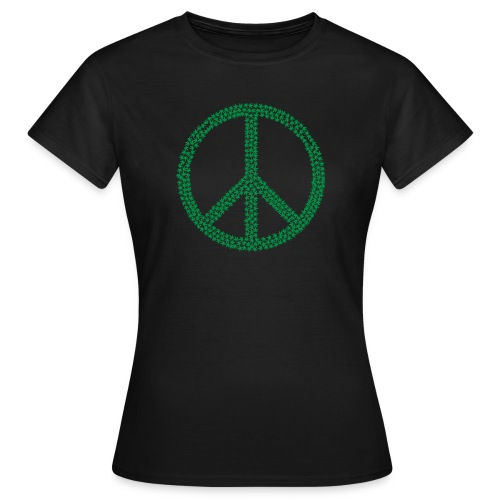 Marijuana Peace - Women's T-Shirt