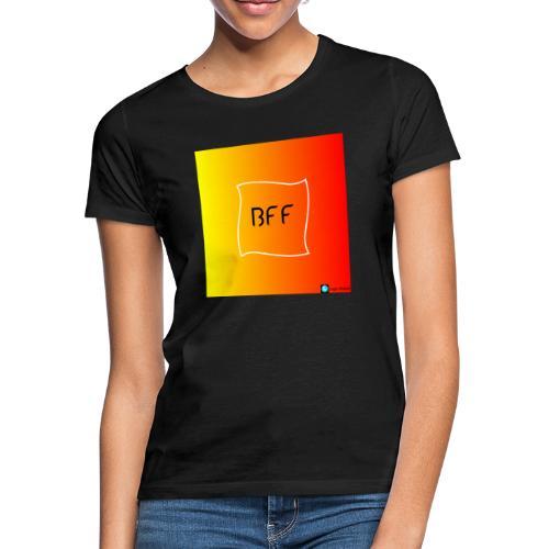 bff rainbow - T-shirt dam