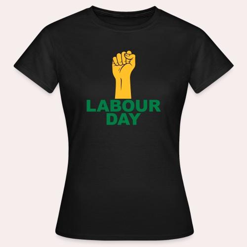 Día del trabajo / Puño en alto - Camiseta mujer