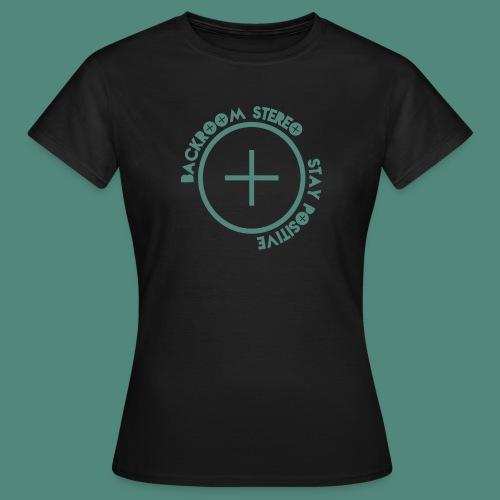 Stay Positive Logo Tee - Women's T-Shirt