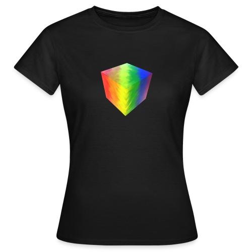 Pride Cube - T-skjorte for kvinner