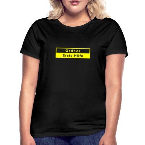 Ordner & Erste Hilfe, gelb - Frauen T-Shirt
