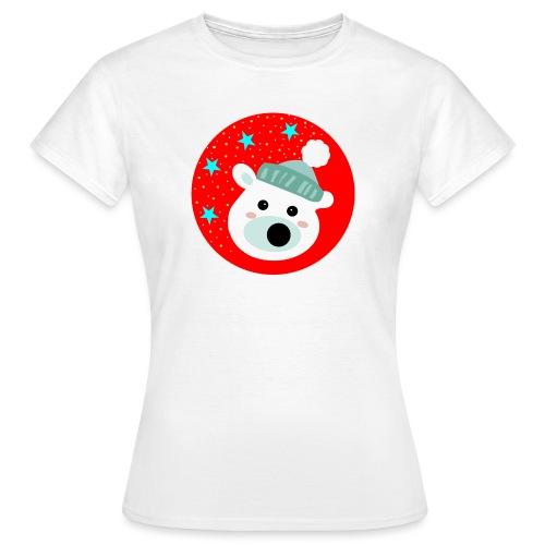 Winter bear - Women's T-Shirt