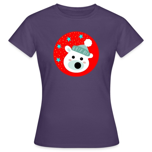 Winter bear - Women's T-Shirt
