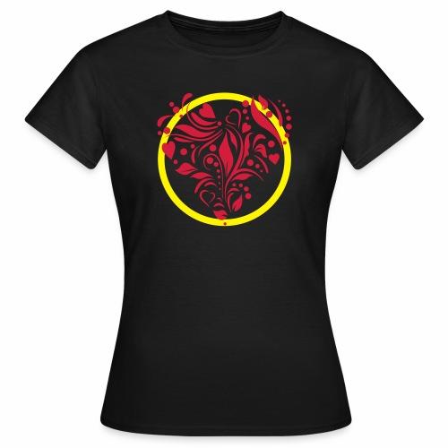 Herzemblem - Frauen T-Shirt