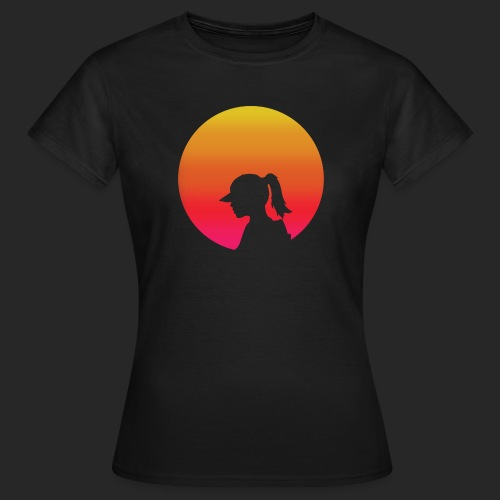 Gradient Girl - Women's T-Shirt