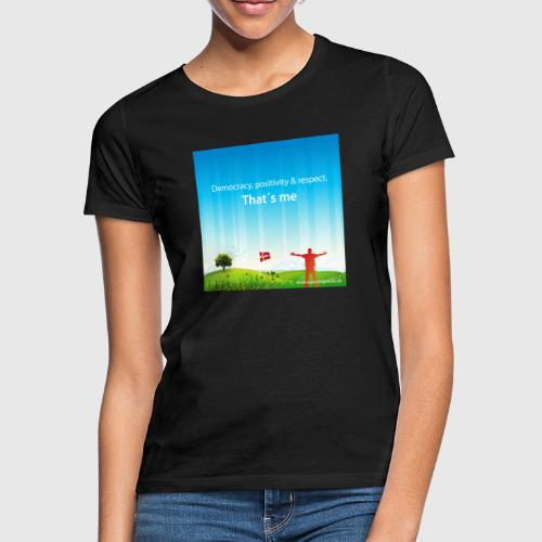Rolling hills tshirt - Dame-T-shirt