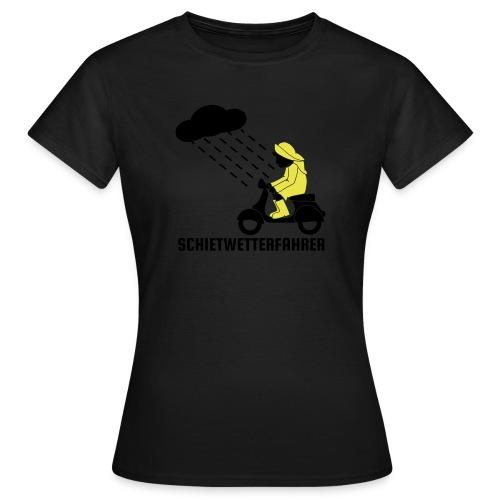 Schietwetterfahrer - Frauen T-Shirt