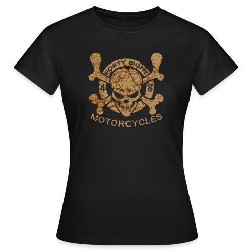 48 skull damaged - T-shirt Femme