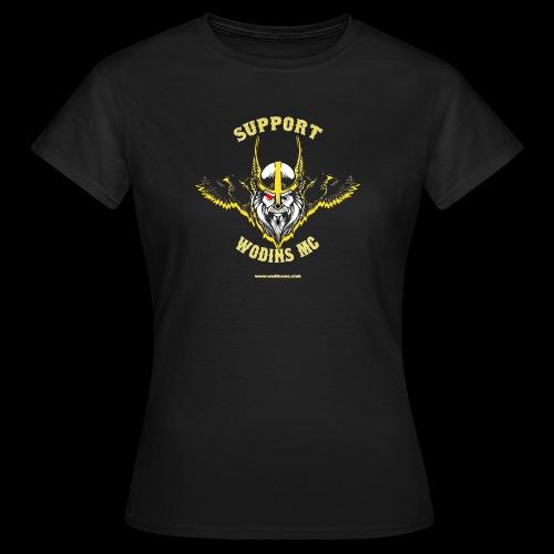 support3 png - Women's T-Shirt