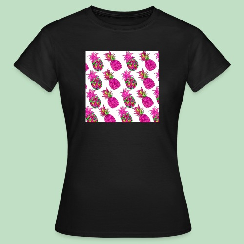 Pineapple magenta - Maglietta da donna