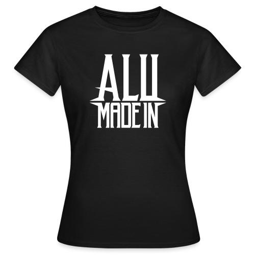 logo_alumadein_vecto_blan - T-shirt Femme