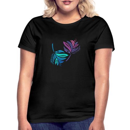 foglie geometriche - Maglietta da donna