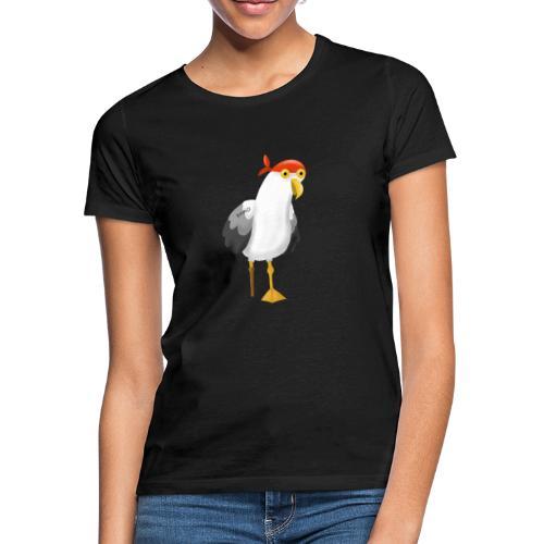 Möwe als Pirat - Frauen T-Shirt