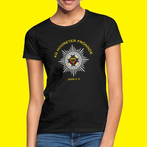 Gelbe Schrift - Frauen T-Shirt