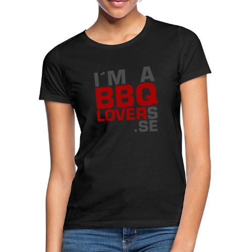 IM A BBQLOVER - T-shirt dam