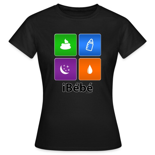 iBébé - T-shirt Femme