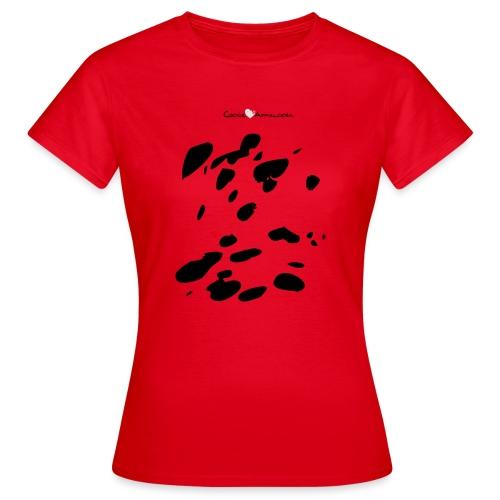Coperta Appaloosa (nero/rosso) - Maglietta da donna