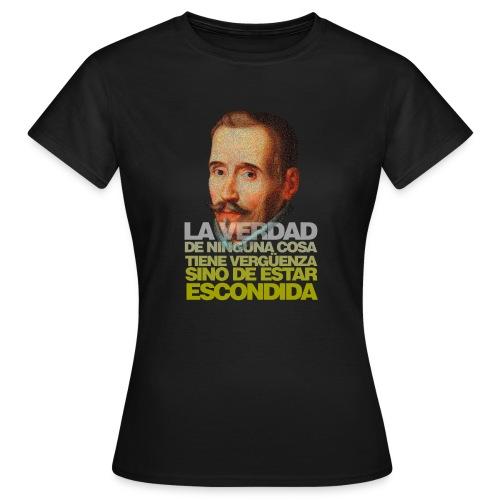 Lope de Vega (Frase) - Camiseta mujer