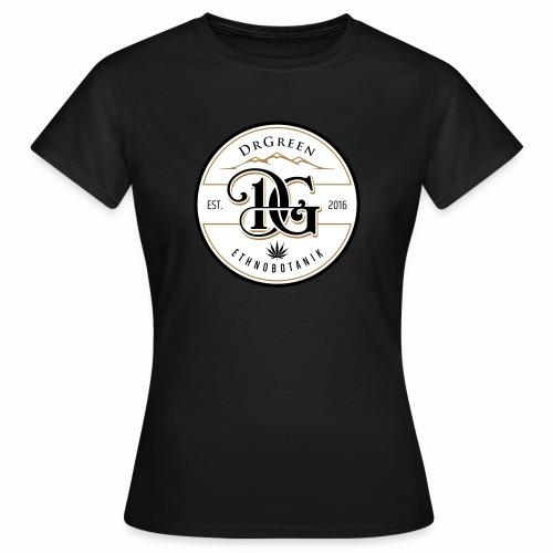 drgreen buttons weiß - Frauen T-Shirt