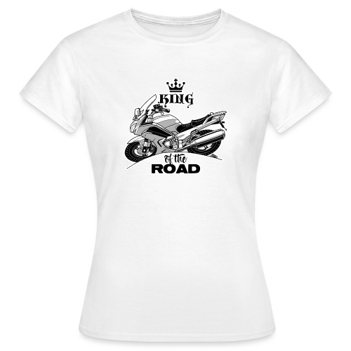0884 FJR KING of the ROAD - Vrouwen T-shirt