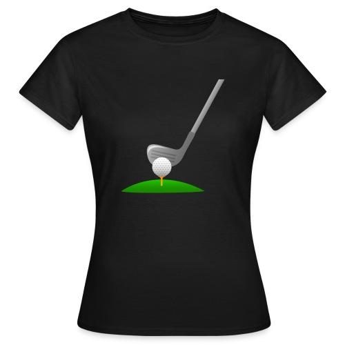 Golf Ball PNG - Camiseta mujer