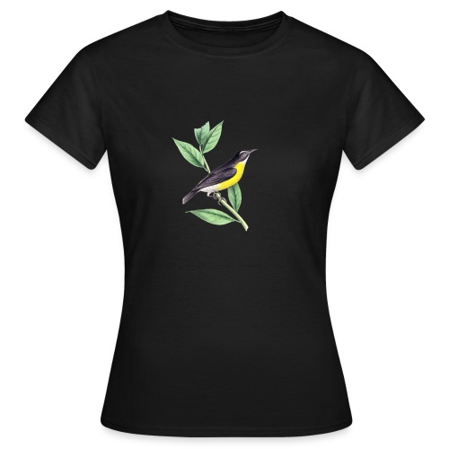 bird yellow-black - Frauen T-Shirt