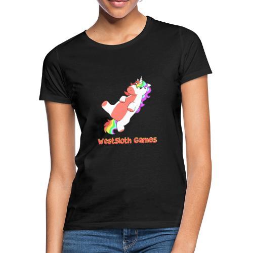 Fat Kung-Fu Unicorn - Naisten t-paita