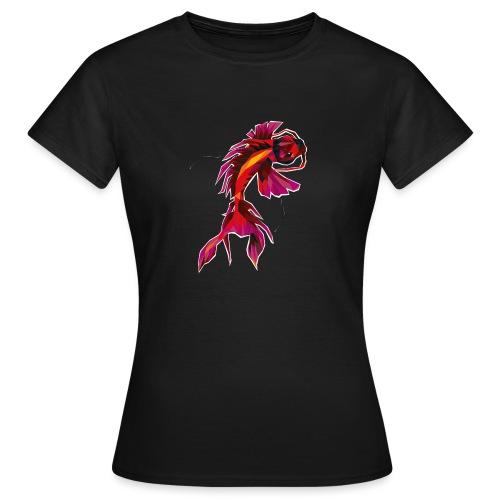 Koi FISH-UNDERWATER - Frauen T-Shirt