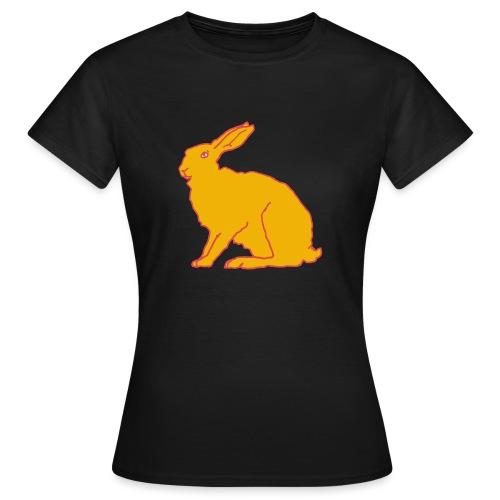 Gelber Hase - Frauen T-Shirt
