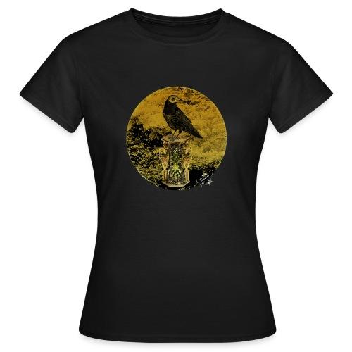 'Memento Mori', round w. logo by BlackenedMoonArts - Dame-T-shirt