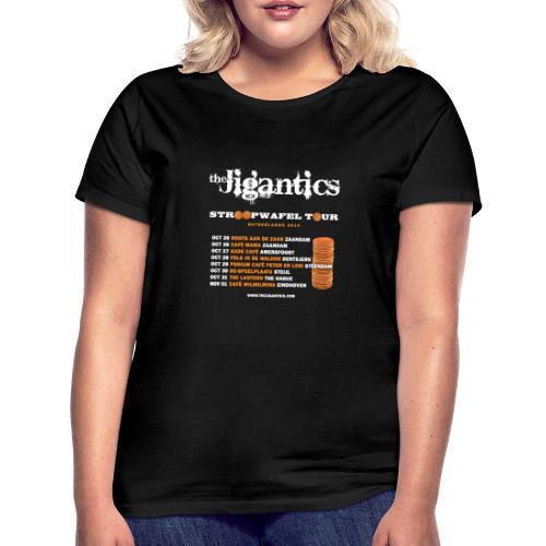 The Jigantics - Netherlands tour 2014 - Women's T-Shirt