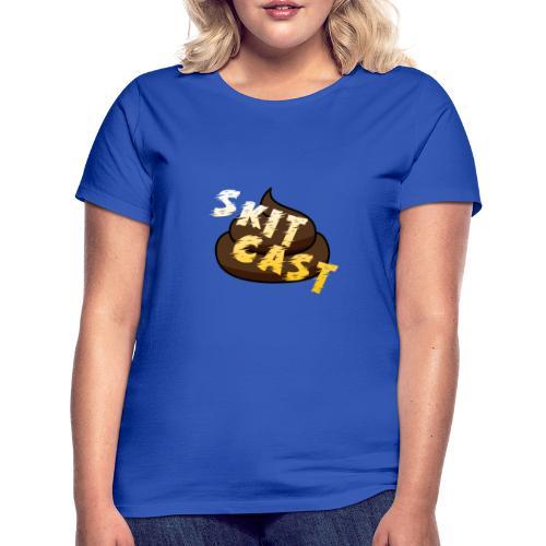 Skitcast-Logo - T-skjorte for kvinner