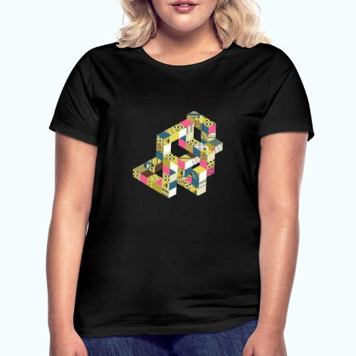 Optical illusion Bright colors - Women's T-Shirt