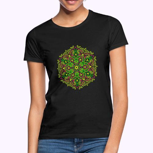 Fire Lotus Mandala - Maglietta da donna